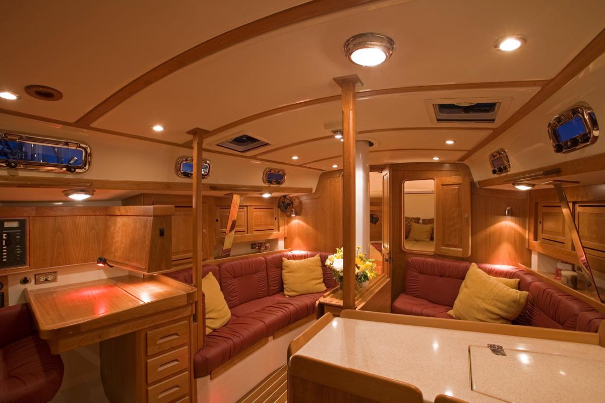 Tartan 3700 Interior