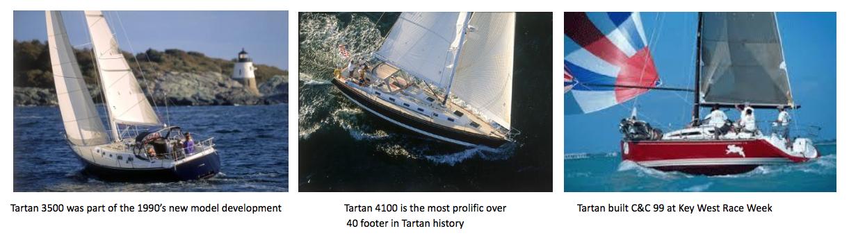 Through the Years | Tartan Yachts