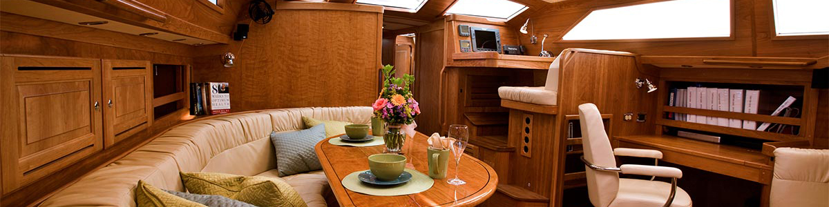 Finest Interiors In The Industry Tartan Yachts