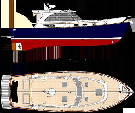 Legacy 36 Deck Plan